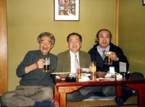 左:木村さん 中央:私 右:佐藤さん