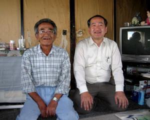 左:木村さん 右:私
