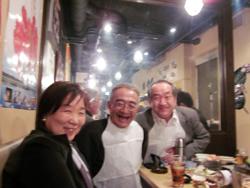 左:塩川先生 中央:木村さん 右:私
