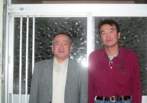 左:私 右:井伊さん