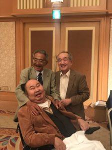 左:木村さん 右:私 中央:佐藤さん